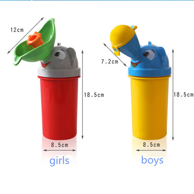 2018 New Portable Baby Urinal Male Leak-proof Child Urinal Mini Travel Car Toilet Camping Boy Girl Kid Potty Training urination 5