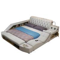 Мебель Frame Meuble De Maison Тоторо детский Letto дважды Bett комнаты кожаная мебель для спальни Кама Moderna Mueble кровать