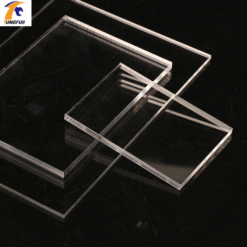 TUNGFULL 3mm Acrylic Sheets Transparent 6 Size Plate Clay Acrylic Plexiglass Perspex Sheet Acrylic Plastic For Woodworking