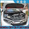 JY нержавеющая сталь 2х опорный стержень гидравлический капот Jackstay крышка двигателя автомобильные аксессуары для HONDA CRV CR-V 2017-2018