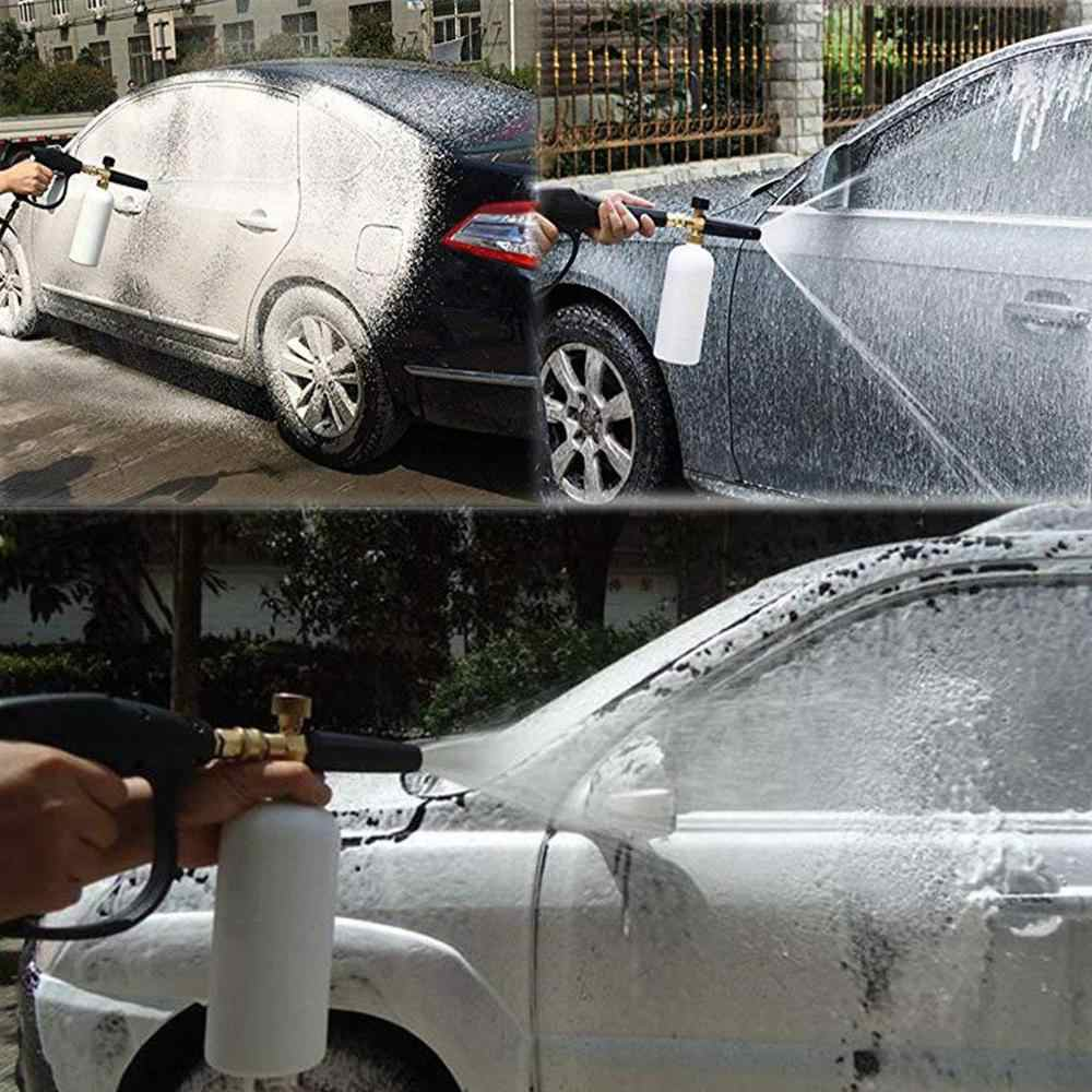 Foam Nozzle Gun Cannon / Car Wash Soap Chemicals Shampoo Sprayer/ Snow Foam Lance/ Foam Generator for Huter High Pressure @15