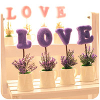 Creative Office Home Decor Miniature Artificial Flowers Decoration For Living Room Wedding Gift