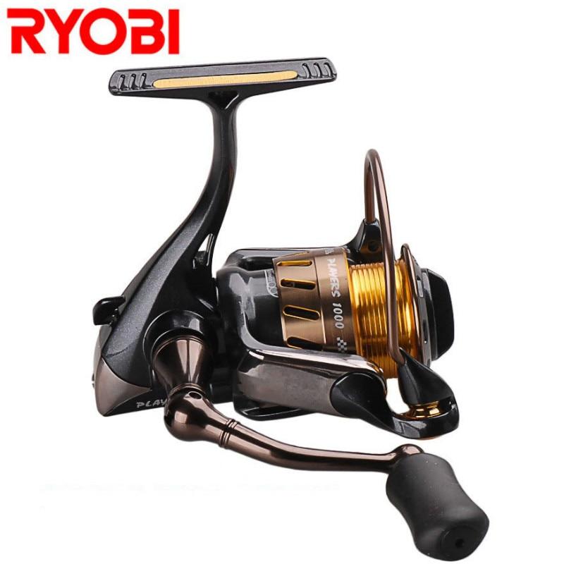 RYOBI PLAYERS(ZAUBER) Spinning Fishing Reel Size 1000 5.1:1 8+1BB Carretes Pesca Moulinet Peche Carretilha Lure Spinning Reel все цены