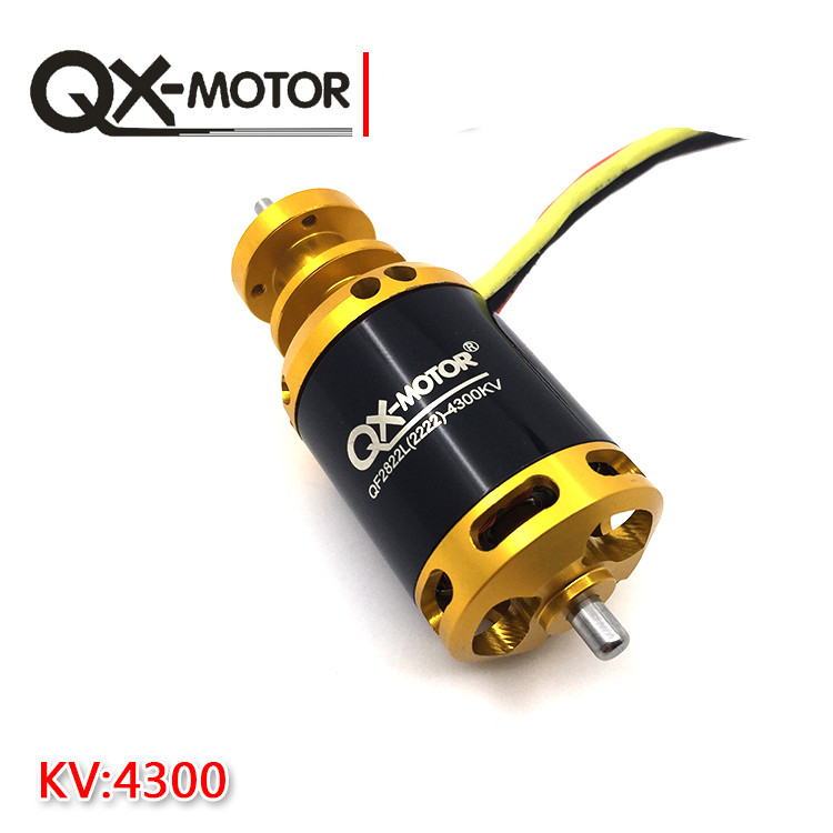 QX-MOTOR 64mm 12 Blades Ducted Fan Jet EDF QF2822 3500KV /4300KV Brushless Motor 3-4S Lipo for RC Airplanes F22141/2 goofy power gp70mm edf full metal ducts ccw cw 12 blades ducted fan 4s 6s lipo motor electric for rc airplaneb rc model