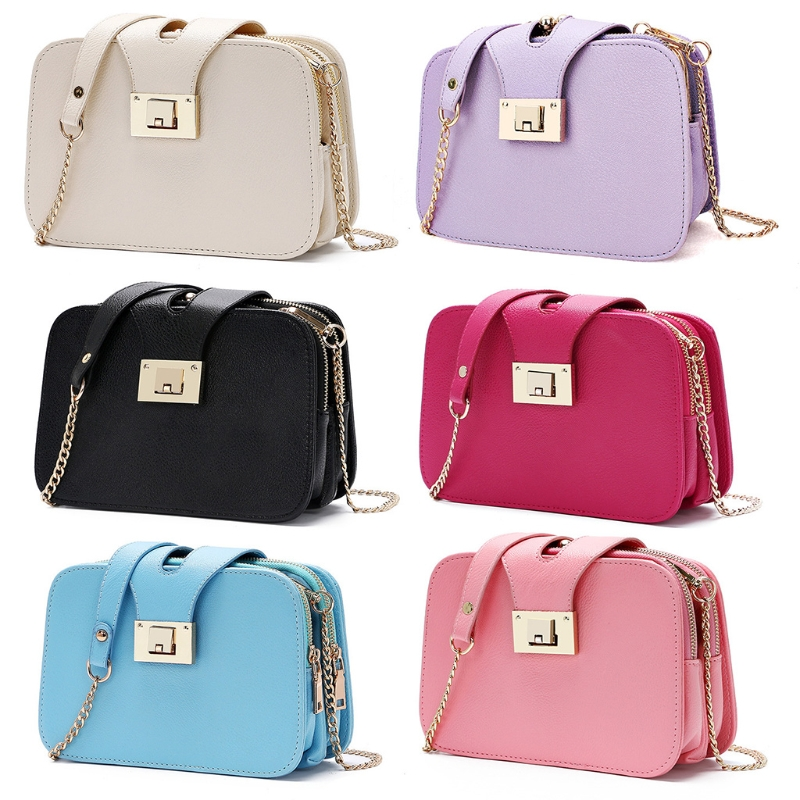 Flap Designer Handbags Clutch Messenger Fashion Women Shoulder Bag Chain Strap