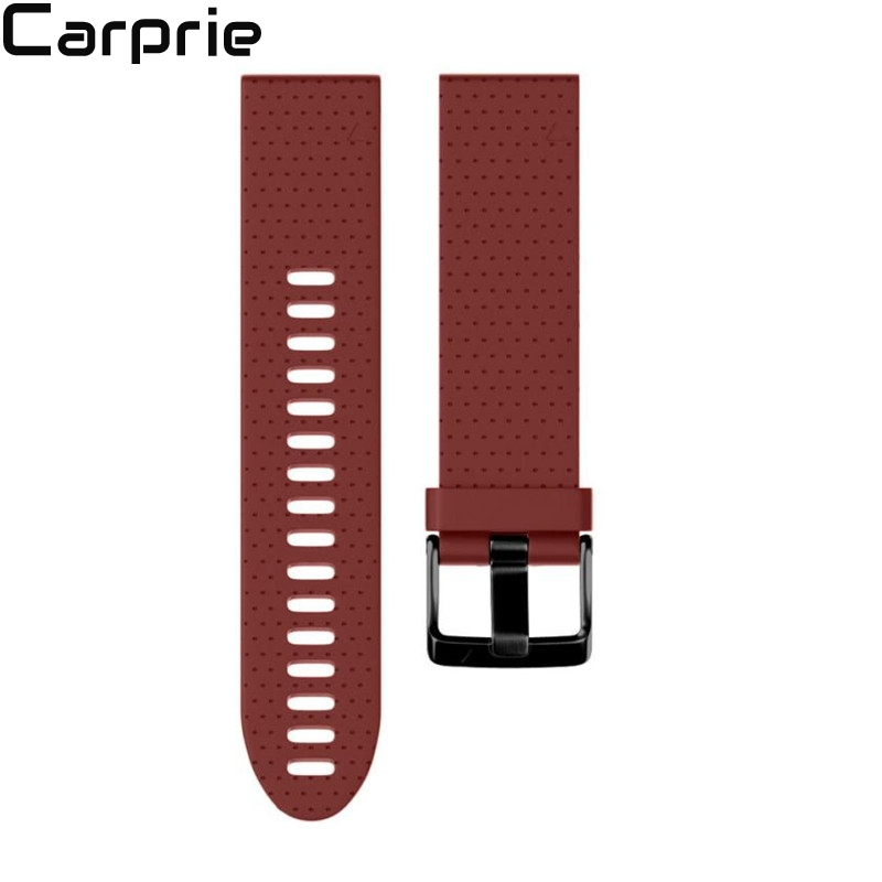 Best Price ! 20MM easy fit Replacement Silicagel Soft Quick Release Kit Band Strap For Garmin Fenix 5S GPS Watch jul6
