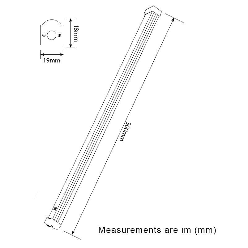 LED LED 2x12V DC ispod svjetiljke ugradbene svjetiljke Induktivni - Svjetla automobila - Foto 3