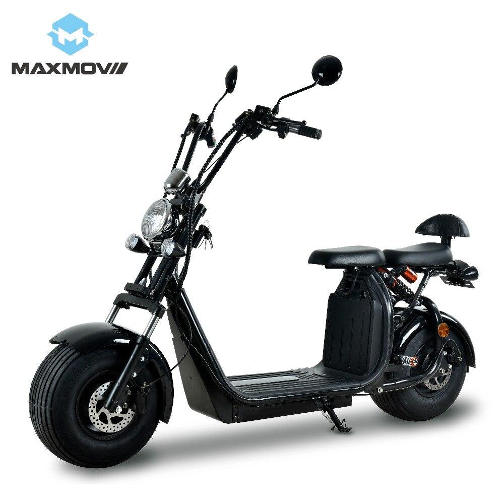 Scooter électrique de mobilité d'adultes de batterie puissante de Lithium de la cee 2019 W 60 V 20Ah 1500 populaire