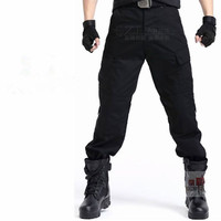 Outdoor pants overalls Army trousers BLACK SWAT Tactical Pants free shipping