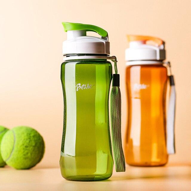 c9a11f6ba 560 ml Desporto Garrafa de Água BPA Livre Garrafas de Água de Plástico Meu  Drinkwar Esporte