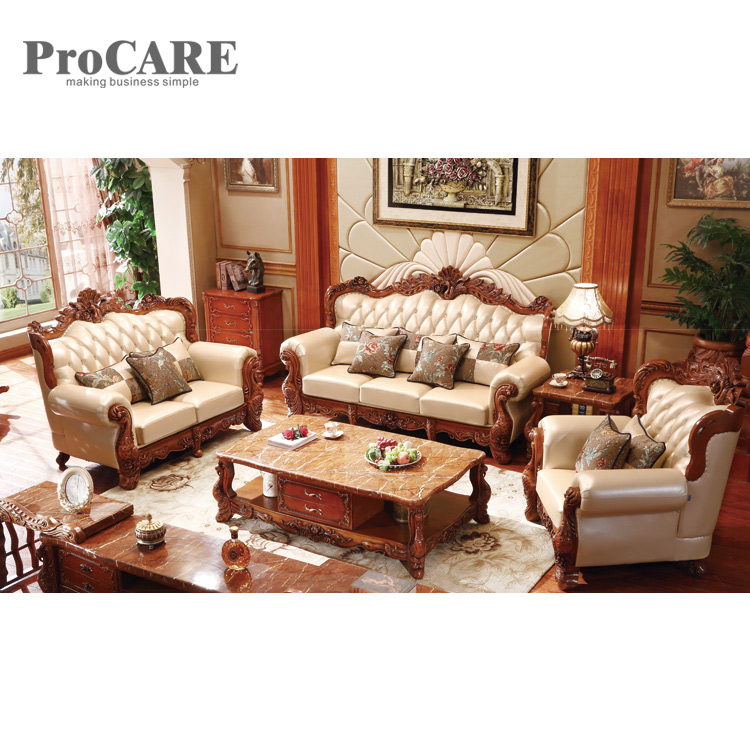 Wood Sofa Set Design For Living Room