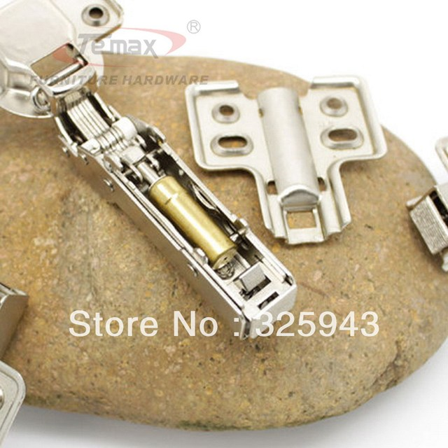 12pcs 35mm cup full overlay hydraulic soft close cabinet kitchen door hinges concealed door hinge furniture