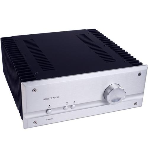 Finished P35 HiFi Pure Class A Power Amplifier 35W+35W Stereo Audio Power Amp image
