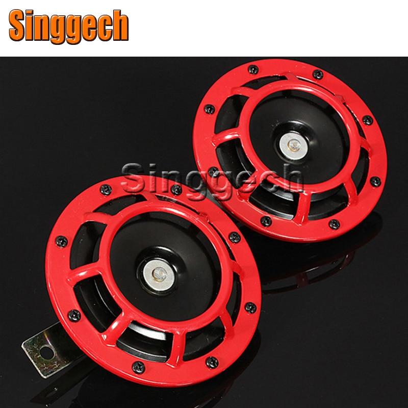 12V Car Red Electric Blast Tone Horn Kit For Nissan Qashqai X-TRAIL Juke TIIDA Note Almera March For Mazda 3 6 2 CX-5 CX5 CX-7 kit thule nissan almera 4 dr sedan 12 n17