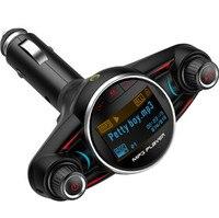 Car Mp3 TF Player Headset FM Transmitters Bluetooth Handsfree Kit Wireless Radio Launcher LCD Display Music USB 5V 2.1A Charging