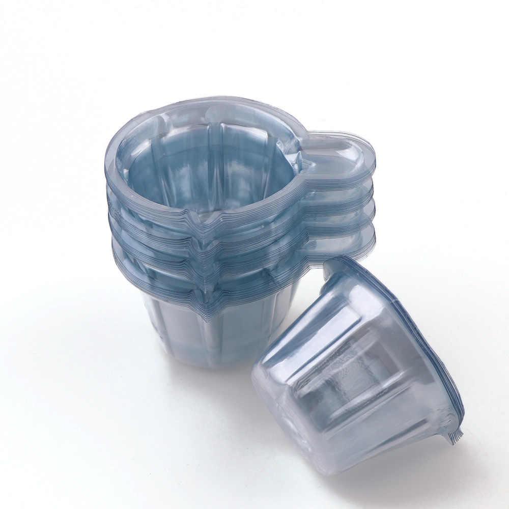 50 pc ถูกกว่า 40 ML พลาสติกทิ้งถ้วย Dispenser DIY UV อีพ็อกซี่เรซิ่นเครื่องประดับเครื่องมือ