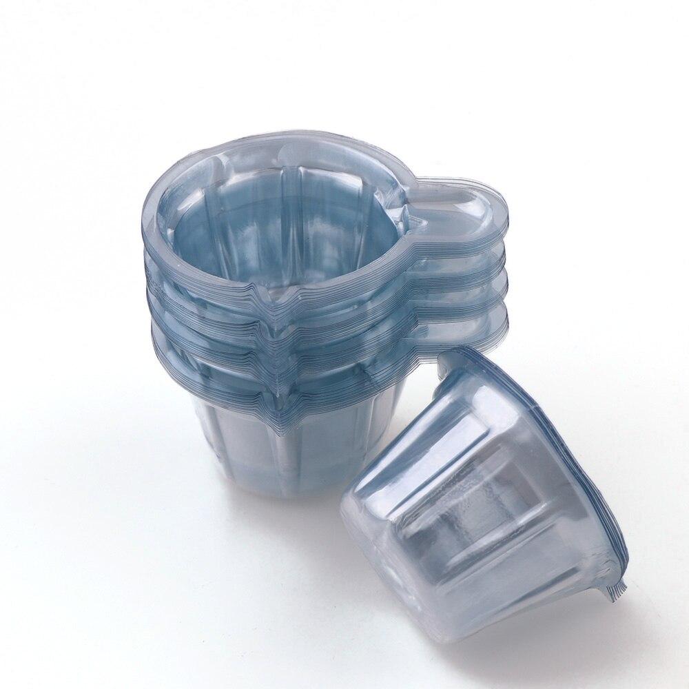 50pc Cheaper 40ML Plastic Disposable Cups Dispenser DIY UV Epoxy Resin Jewelry Making Tool
