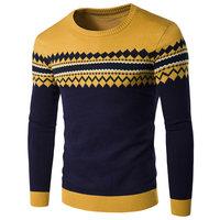 Branding Clothes Men European And American Style Mens Cardigan Sweater Pullovers Plus Size Men Pattern Polo