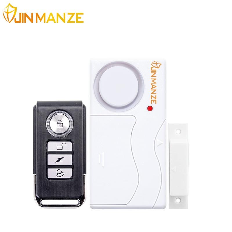 Home Security per Porte E Finestre Sirena di Allarme Sensore Magnetico del Sistema di Allarme Porta Telecomando Senza Fili Rivelatore Allarme Antifurto