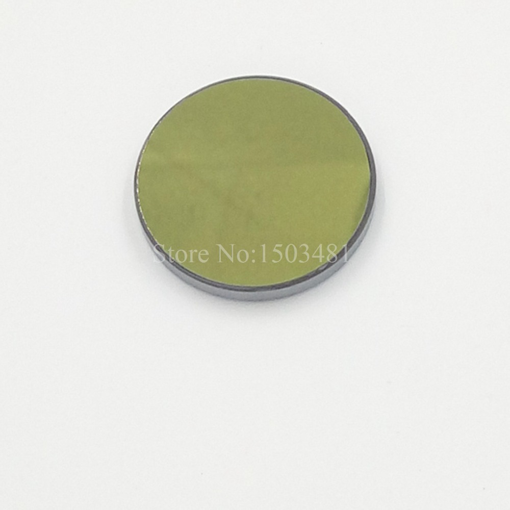 Laser Mirror Si  Reflection Lens Diameter 25mm Coated Gold For CO2 Laser Engraving Cutting Machine  Free Shipping