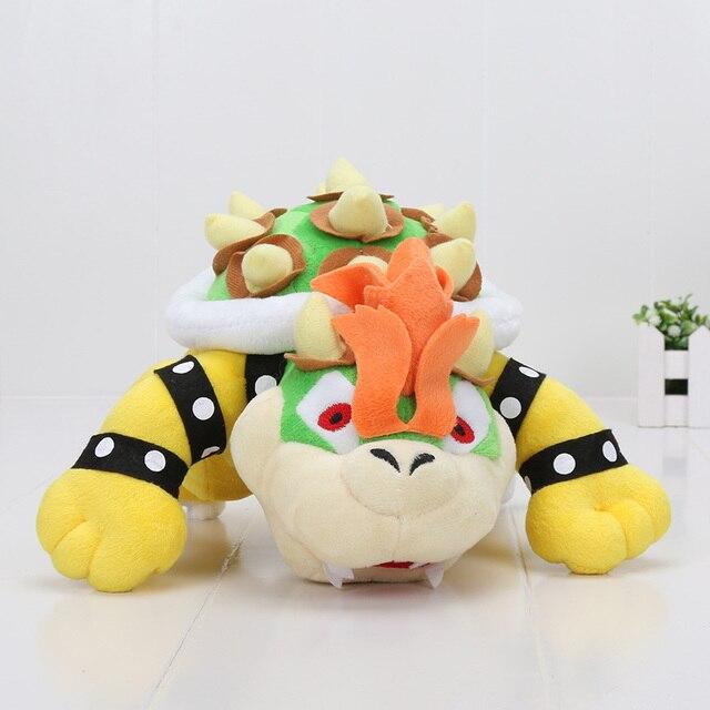 23 cm Super Mario Koopa Bowser dragão de pelúcia boneca Irmãos Bowser brinquedo De Pelúcia macia para crianças