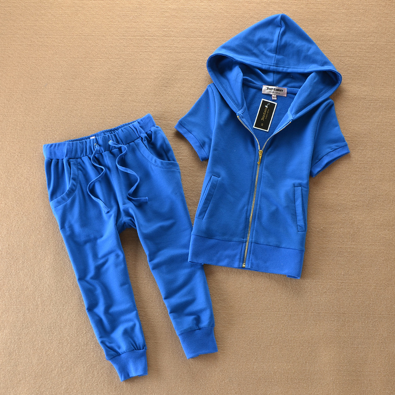 Casual Cotton Tops and Pants Set Workout Clothing Popular Tracksuit