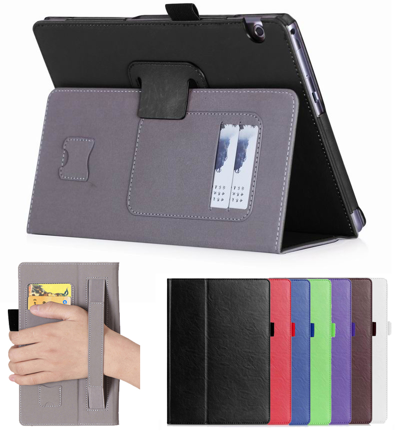 30Pcs/Lot DHL Case For Huawei Mediapad T3 10 Magnet Cover For Huawei Honor Play Pad 2 9.6Inch Tablet Slim Flip PU Leather Bag