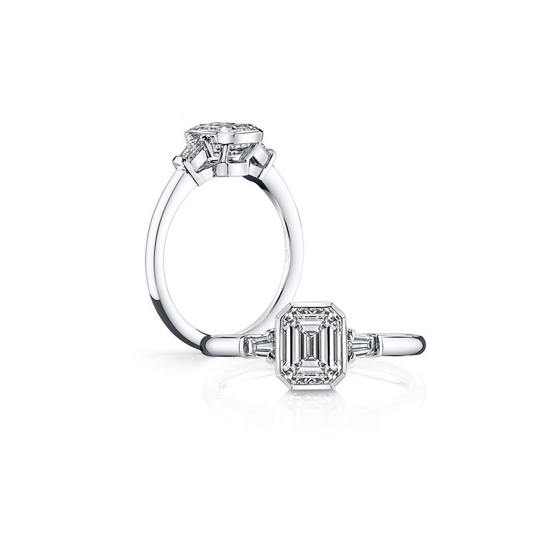 1971a2cad835 Clásico Eterno corazón 925 anillos de plata esterlina para mujer azul Rosa  anillo de ópalo blanco