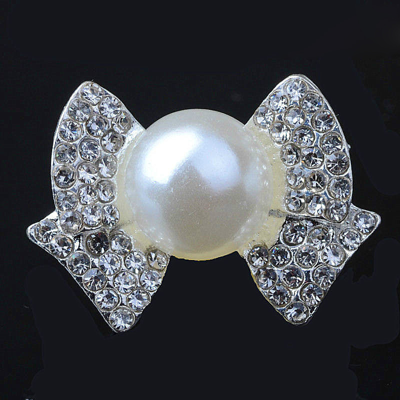 6 Crystal Pearl Photo Picture Frame Diamond Bowknot: Aliexpress.com : Buy Bowknot Alloy Ivory Pearl Diamond