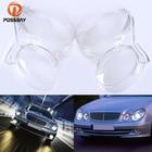 POSSBAY Clear Car Headlight Lens Cover Headlamp Lenses Shell Replacement for Mercedes-Benz E-Klasse T-Modell S211 2003-2009