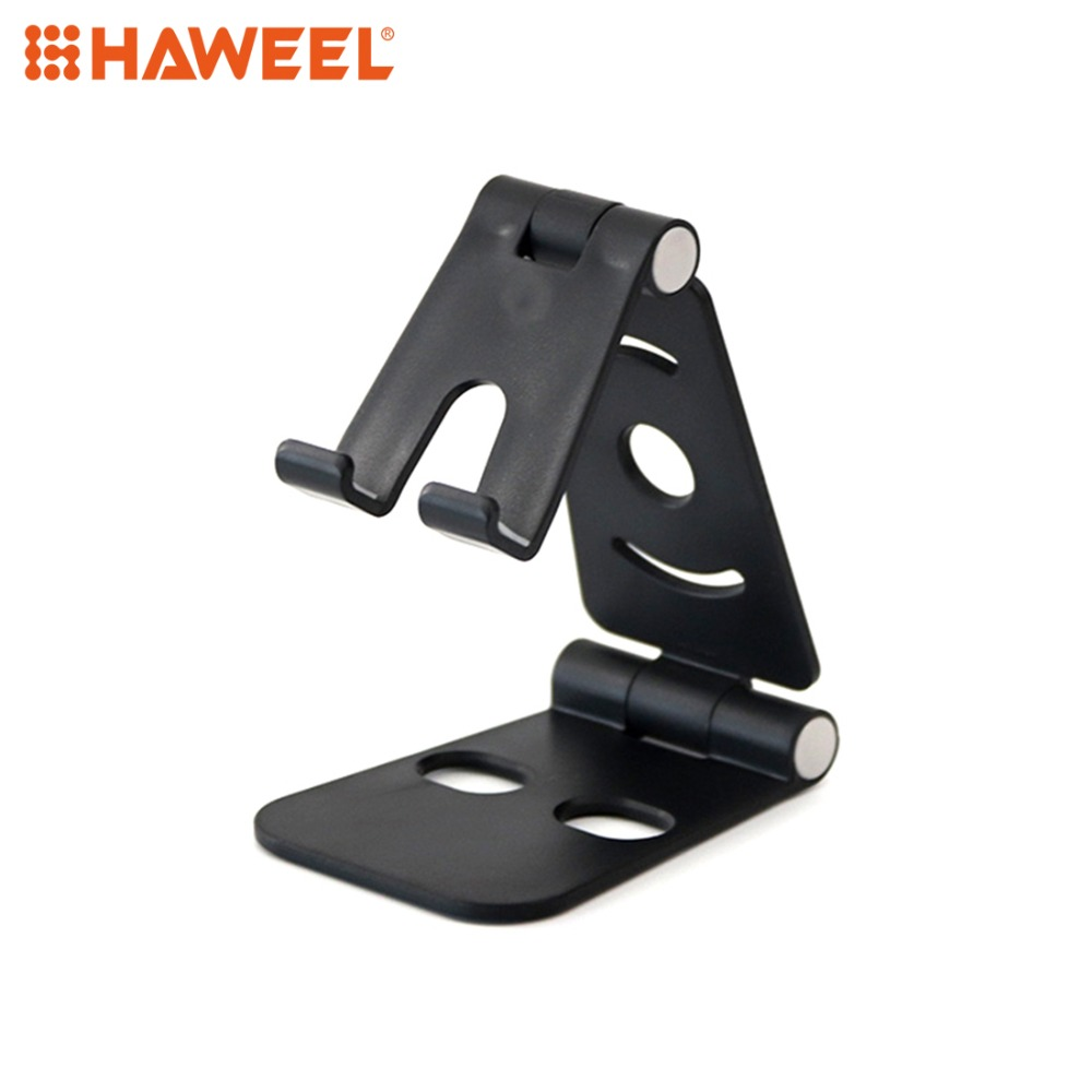 HAWEEL Foldable Mobile Phone Tablet Desktop Universal Plastic Bracket Lazy Holder
