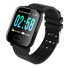 Купить с кэшбэком RUIJIE Smart Watch IP67 Waterproof Activity Fitness Tracker Bracelet Heart Rate Monitor Blood Pressure Men Women Smartwatch