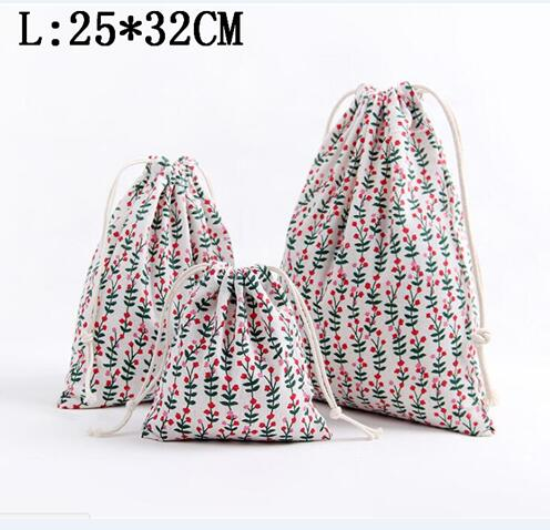 89a28cebb851 1PCS Fashion Cotton Drawstring Bag Women Cosmetic Bags Coin Purse Travel  Cloth Gift Pouch Storage Package Bag