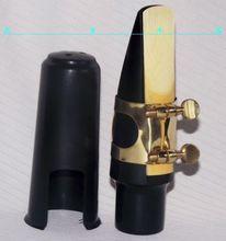 Top grade Alto saxophone mouthpiece and ligature and cap