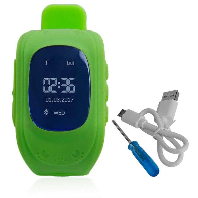 Professional Q50 Children Kids Smart Watch Tracker Locator Anti-Lost Waterproof Baby Safe Watch OLED Display