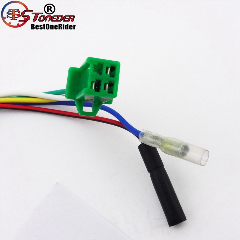 STONEDER 8 Poles Ignition Stator Rotor Magneto For GY6 125cc 150cc ...