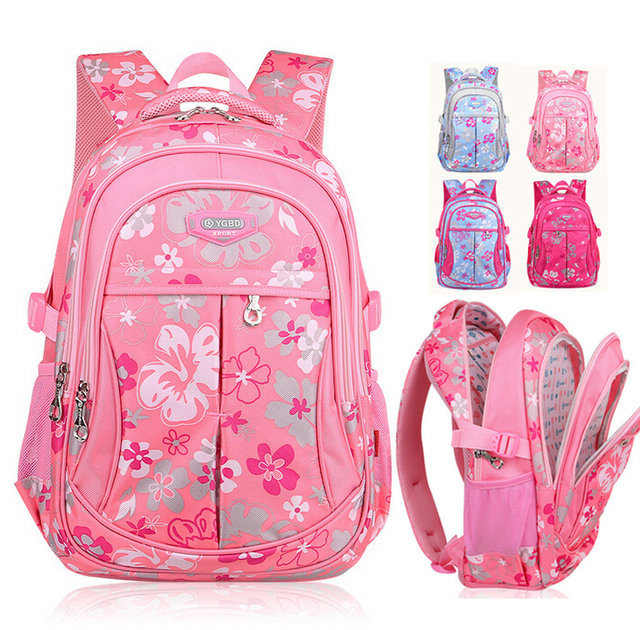 d68918f40cd2 ximier Korean New Fashion Child Primary School Backpack Girls Waterproof  Nylon Student Shoulder Backpacks Kids School Bags Book