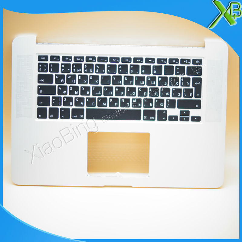 New TopCase with RU Russian Keyboard for MacBook Pro Retina 15.4 A1398 2013-2014 years new original a1466 ru russian topcase keyboad for apple macbook air a1466 13 2013 2014 free shipping