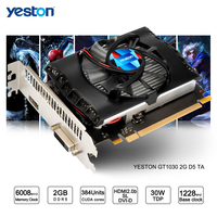 Yeston GeForce GT 1030 GPU 2GB GDDR5 64 Bit Gaming Desktop Computer PC Video Graphics Cards