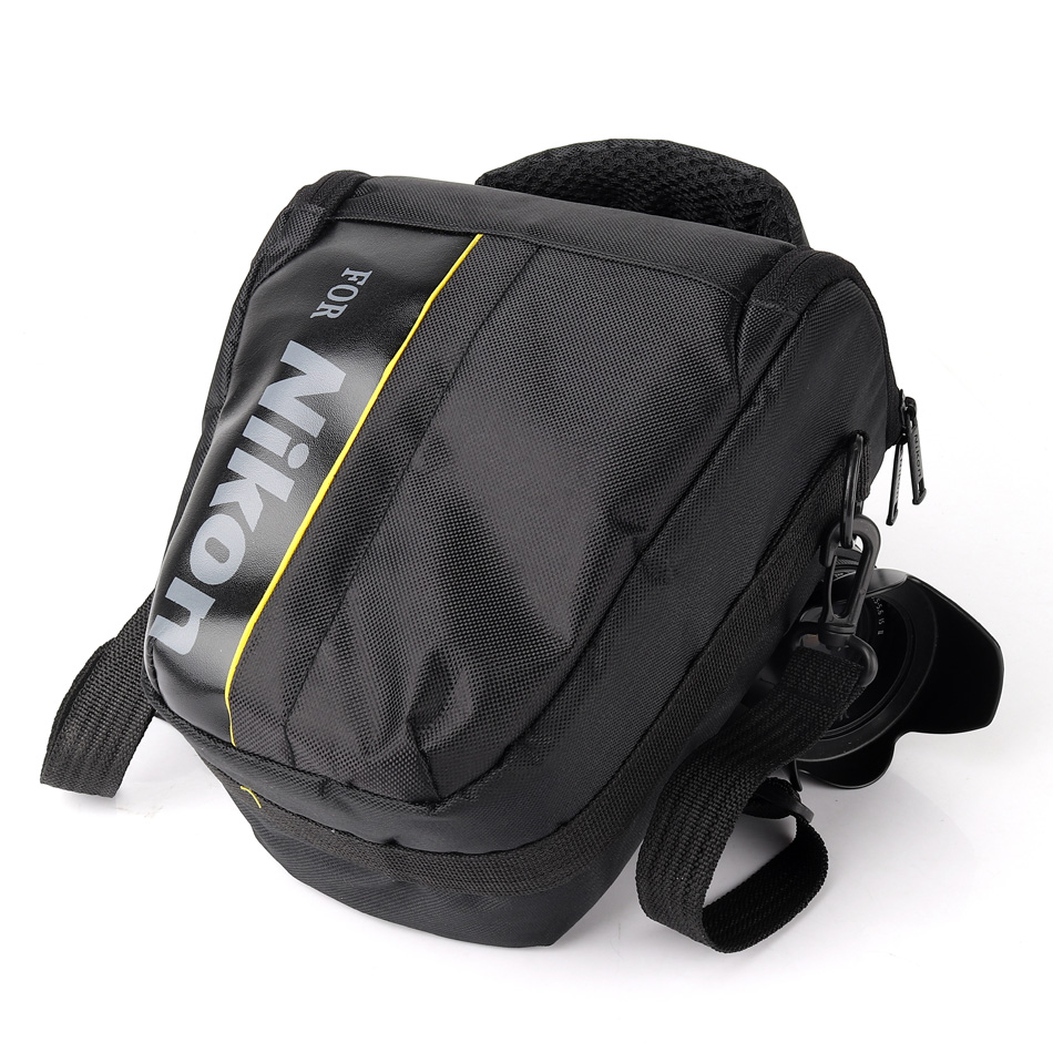 DSLR Camera Bag <font><b>Case</b></font> For <font><b>Nikon</b></font> P900 P1000 D750 D5600 D5300 D5100 D7000 D7100 D7200 <font><b>D3100</b></font> D80 D3200 D3300 D3400 D5200 D5500 <font><b>D3100</b></font> image