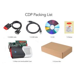 Image 5 - CDP TCS pro plus V3.0 herramienta de diagnóstico obd2 con keygen para coche y camión, tablero verde, TCS CDP, Bluetooth 2015 R3, 2 uds.