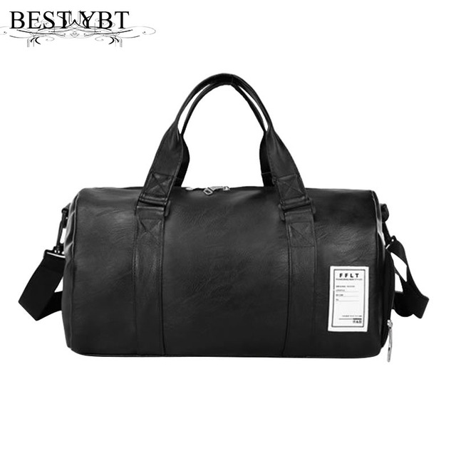 610cbaa63a Mara s Dream Unisex travel bag high quality PU leather large capacity  waterproof Men bag Portable multifunction