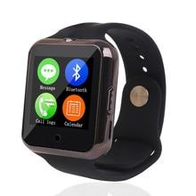 Teamyo C88 Bluetotoh Smart Uhr Sync Notifier mit Pulsmesser/Thermometer/Kamera Smartwatch Für Iphone IOS Android SIM