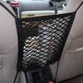 HUANLISUN 300x250mm asiento de Coche Universal Negro bolsa de red Bolsa de malla bolsa de red de Almacenamiento Neto de Bolsillo coche