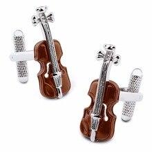 HAWSON Interesting Violin Cufflinks High Quality Mens Accessory Music Cuff links for Gift Free Shipping