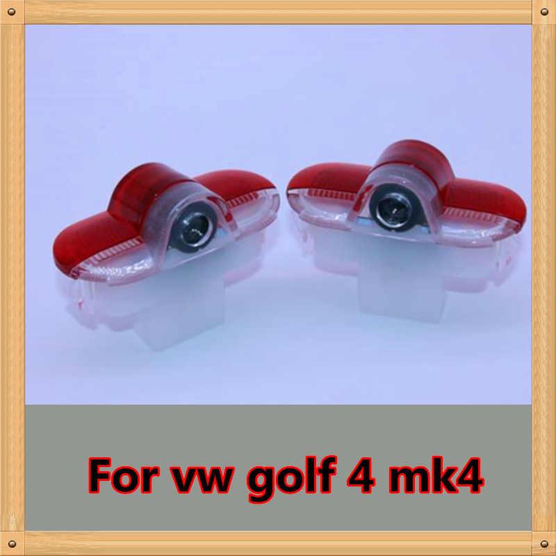 Pour VW Golf 4 MK4 Touran Caddy Bora Scarabée Golf4 LED Voiture Porte Projection Logo Lumières