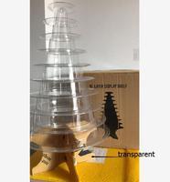 10 kondygnacje Wieży Macaron wyświetlacz wyświetlacz stojak składany macaron dekoracja ślubna birthday party decoration