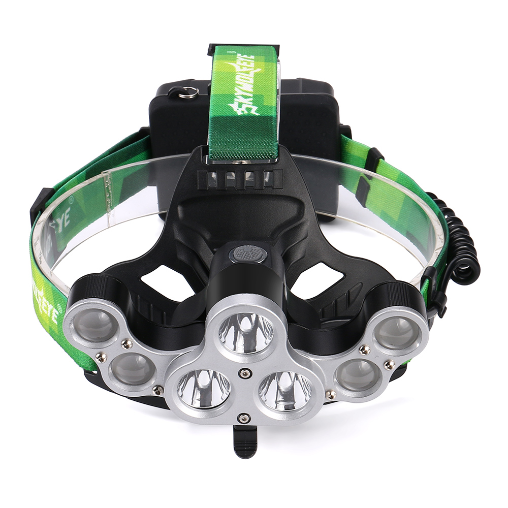 Adjust LED Headlamp 30000lm XM-L 3T6 4Q5 USB Headlight Head lamp Rechargeable 18650 Flashlight Head lantern 4 modes 1 bag 10mm spiral wrapping tube flexible cable sleeves flame retardant winding pipe black white spiral wire