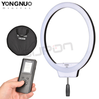 YongNuo YN308 Selfie Ring Light 3200K 5500K Bi Color Temperature Remote Wireless LED Video Light Led