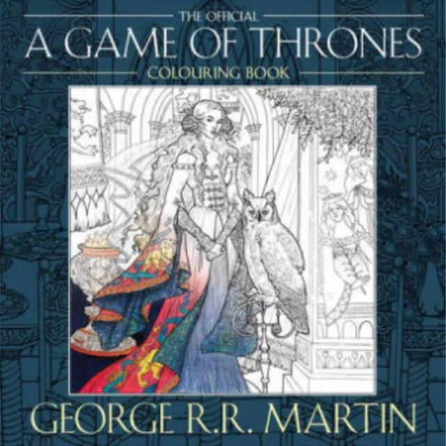 A Game Of Thrones Coloring Book Song Ice And Fire